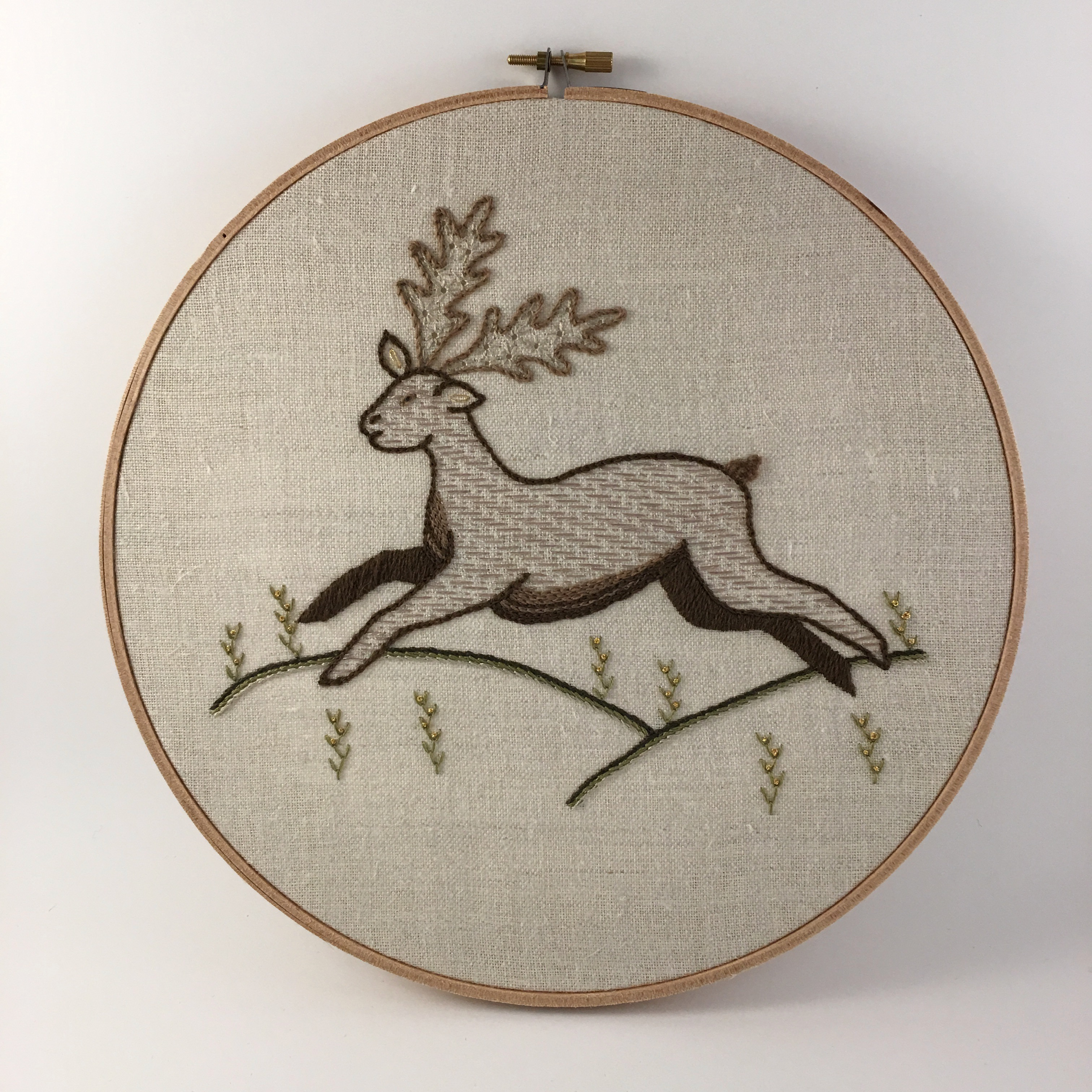 Introduction to Embroidery: Animal Traditional VIRTUAL CLASS