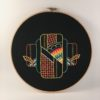 Introduction to Embroidery: Geometric Design Traditional VIRTUAL CLASS