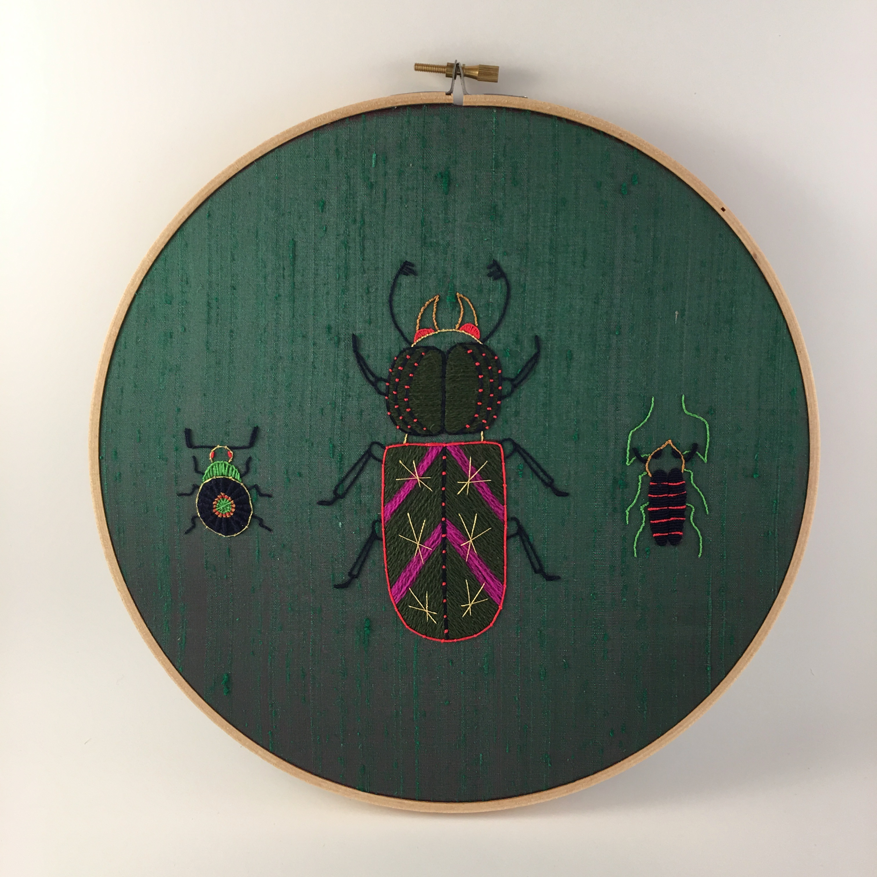 Introduction to Embroidery: Insect Contemporary VIRTUAL CLASS