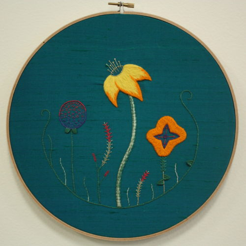 Introduction to Embroidery: Flower Contemporary VIRTUAL CLASS