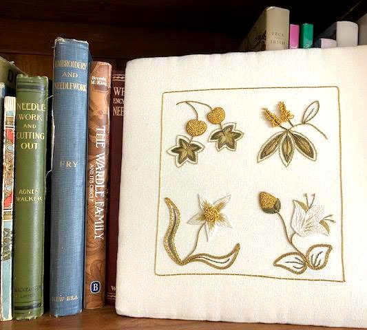 Silk and Gold Floral (Two-Session VIRTUAL CLASS)