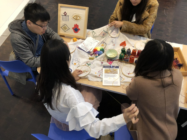 2018 - Crafternoon at the Contemporary Jewish Museum