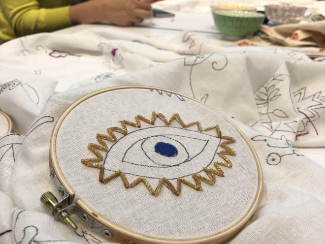 2018 - Goldwork Circle at the Contemporary Jewish Museum