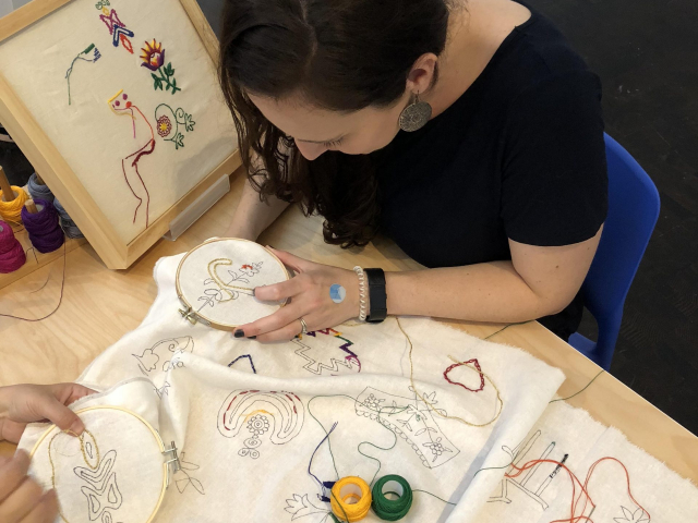 2018 - Textile Lab at the Contemporary Jewish Museum