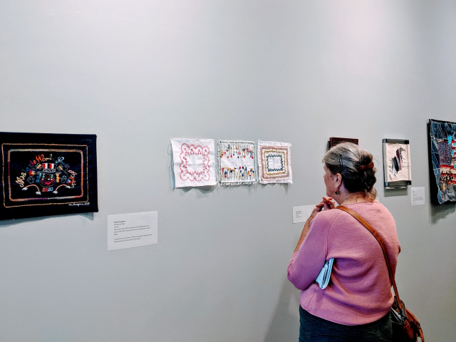 2019 - San Jose Quilt Museum: Borders Stitch-at-Home Challenge Exhibition
