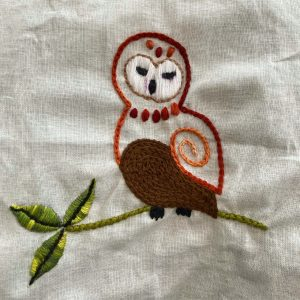 Bite-Size Embroidery for Beginners, by Tricia O'Neill, @triciao_photo