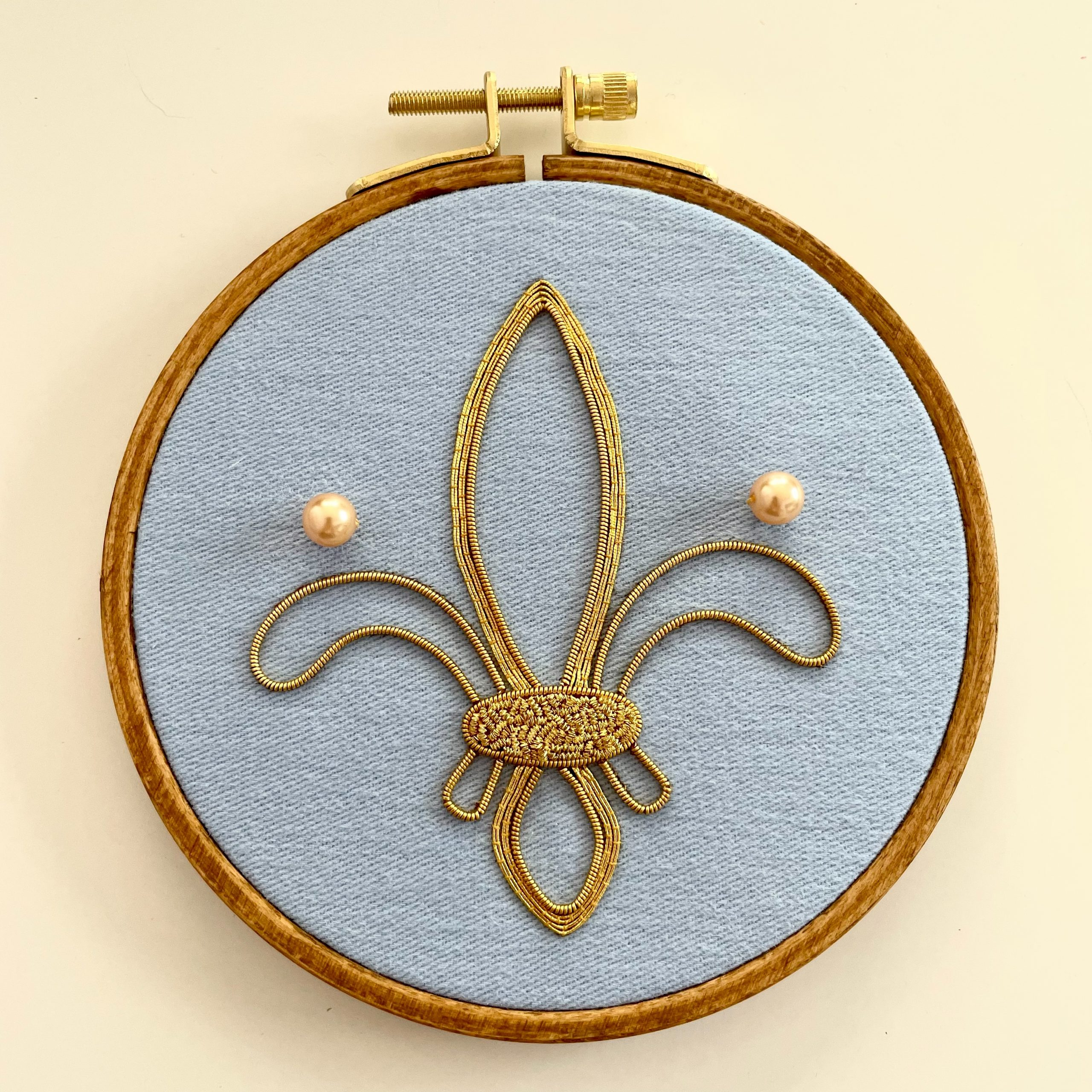 Technique Taster Goldwork by Chloé Annick Ginsburg, CA